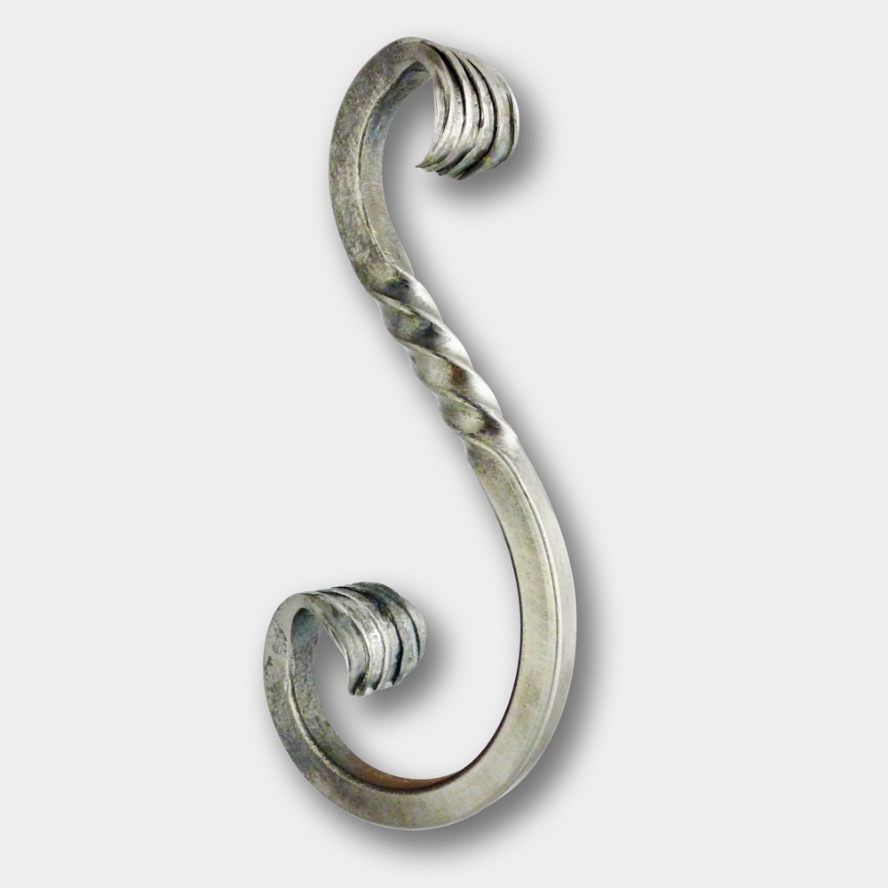wrought iron S scroll