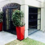 Feature Panel Portico Gate