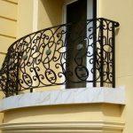 Ornate Design Balcony Balustrade