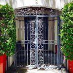 Ornate Portico Gate Sml