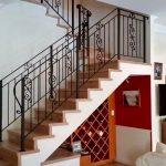 Scroll Panel Stair Balustrade