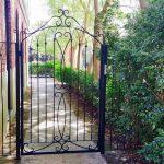 Top Scroll Garden Gate