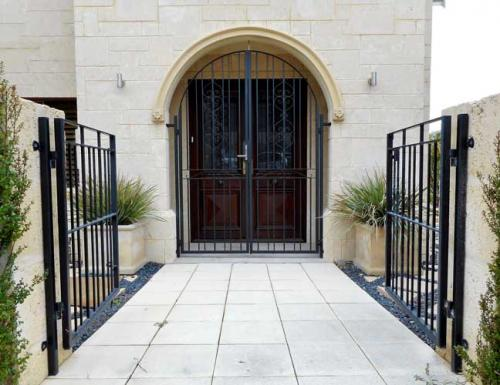 Arched Portico Entrance Gate