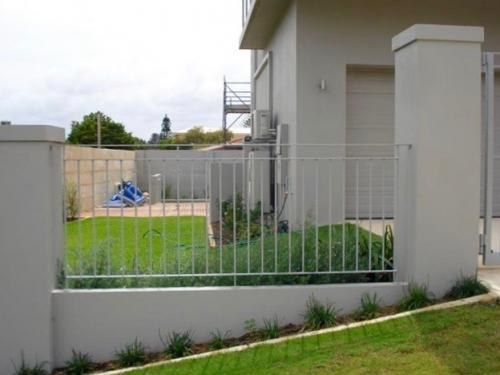 Modern Style Fence Infill