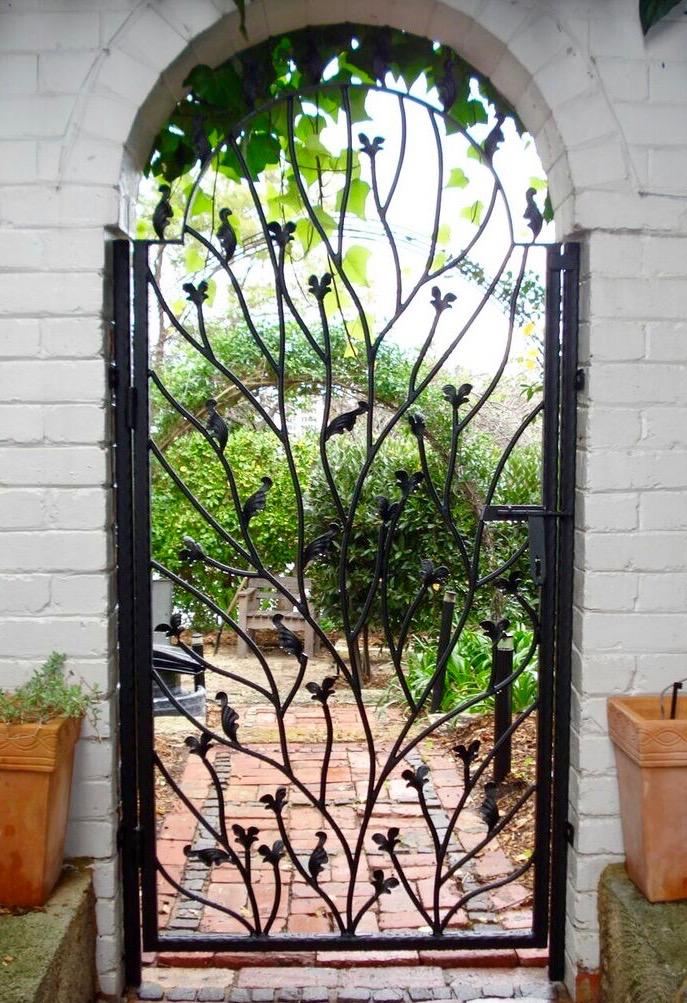 Wrought Iron Security Gates